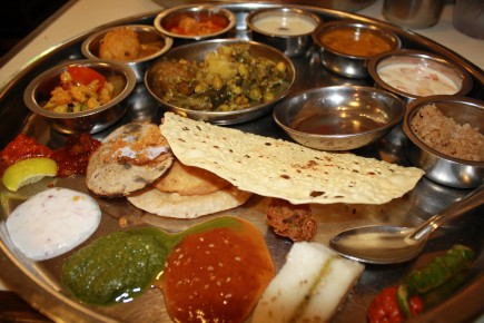 ... indian food & Every Indian Host Has A Mission - Pathik Bhatt